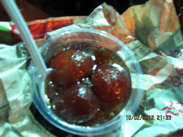 Hot hot Gulab Jamoon straight out of frying pan