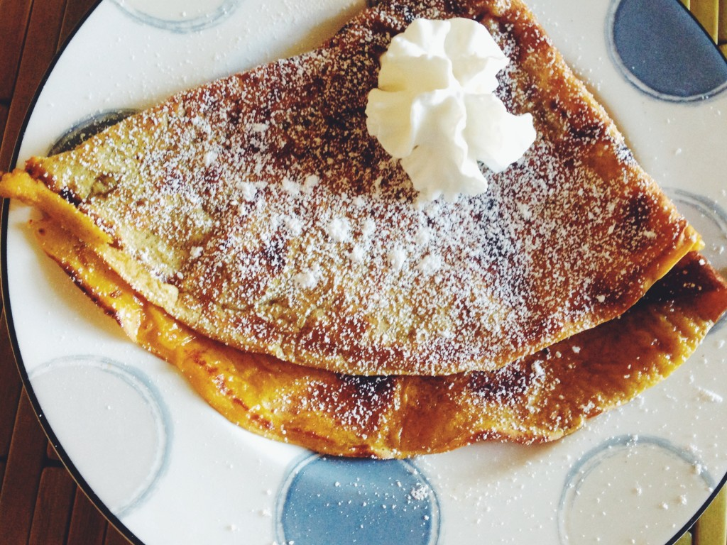Pumpkin Spiced Crepes With Pumpkin Butter Recipe — Dishmaps